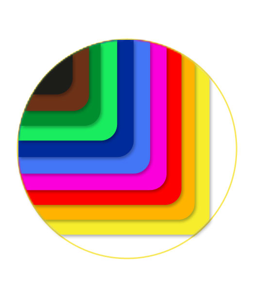 Farebný papier • 20 kusov á 1 farba/125